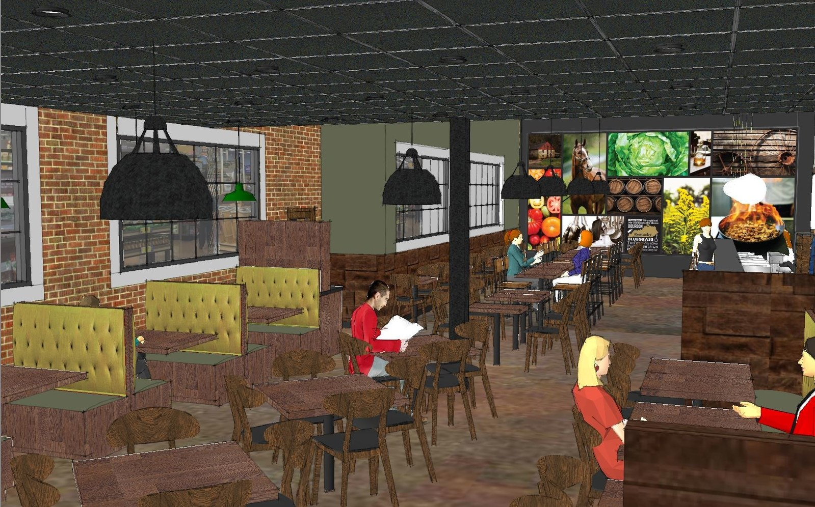 Restaurant Kitchen Pictures kroger to open its first standalone restaurant | convenience store