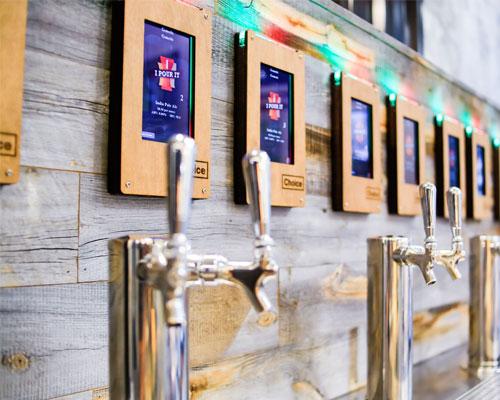 Choice Market self-serve alcohol dispensers
