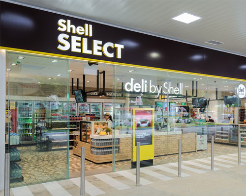 Shell Select exterior