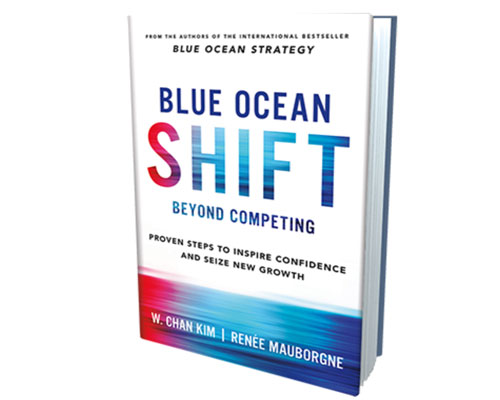 Blue Ocean shift book
