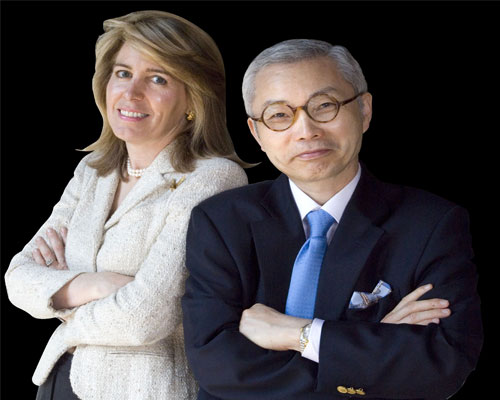 Professors W. Chan Kim and Renee Mauborgne