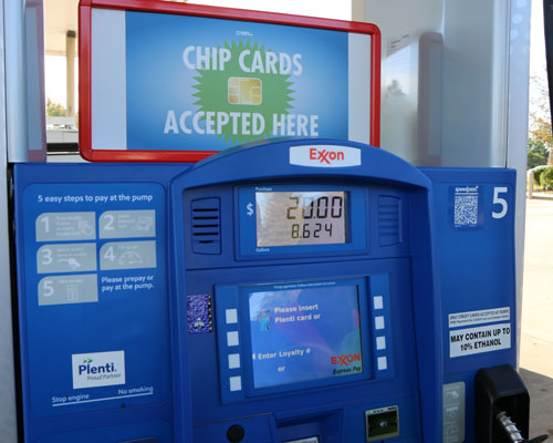 Gilbarco Veeder-Root's FlexPay CRIND payment terminals for Holmes Oil