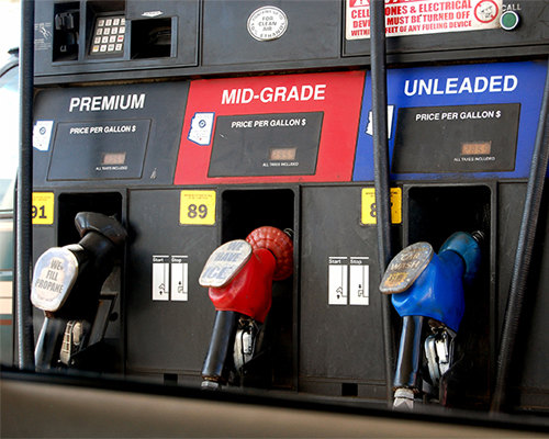 Gas prices continue dropping ahead of busy Thanksgiving travel season