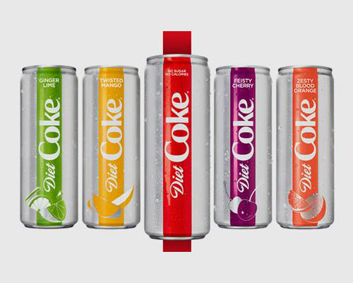Diet Coke Announces a Fab Four