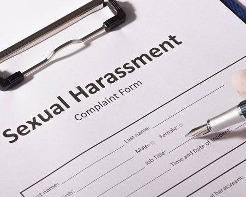 sexual harassment form