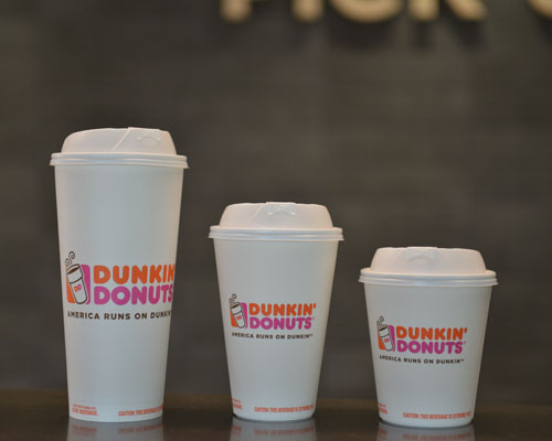 Dunkin' Donuts to Eliminate Foam Cups in Stores Worldwide Within Two Years