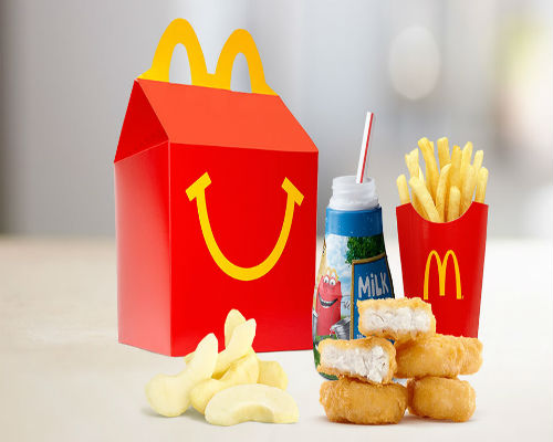 McDonald's pulls the cheeseburger off its Happy Meal