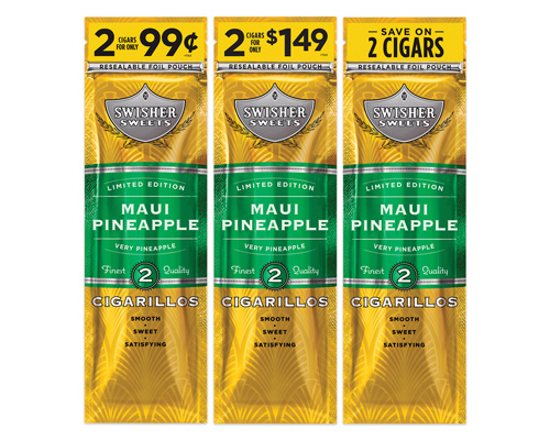 Swisher Sweets Limited Edition Maui Pineapple