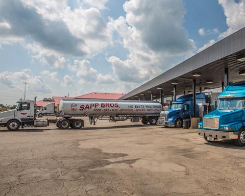 travel center biodiesel offering