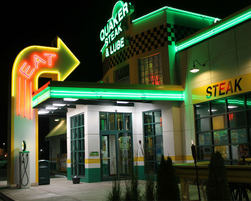 Quaker Steak & Lube exterior