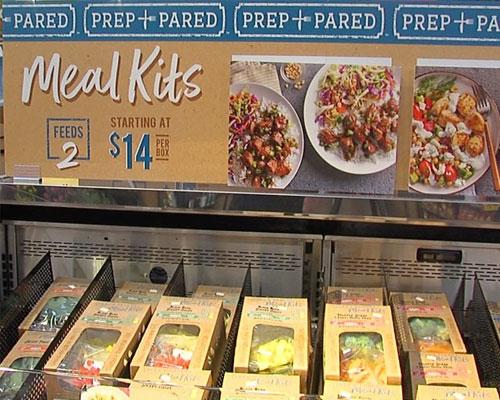 meal kit options at Kroger