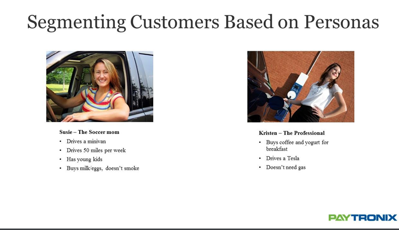 segmenting customers based on personas