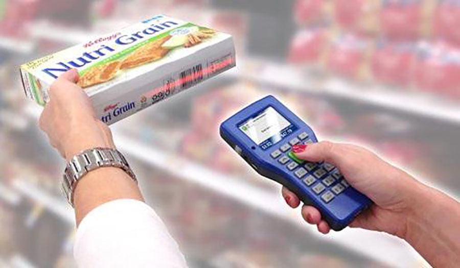 Kroger Scan & Bag technology