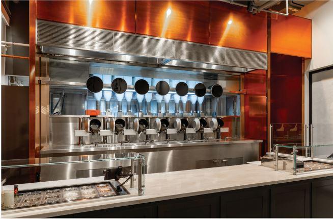 Spyce robotic kitchen
