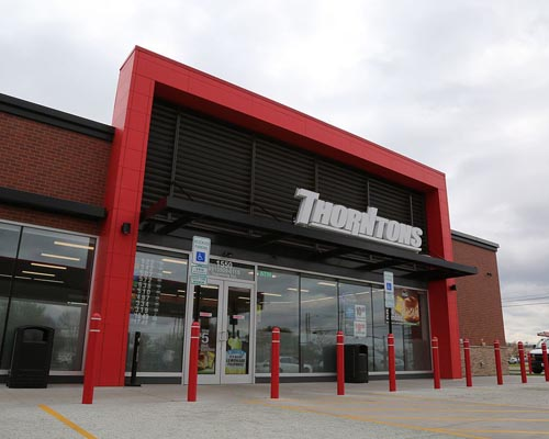 A Thorntons convenience store