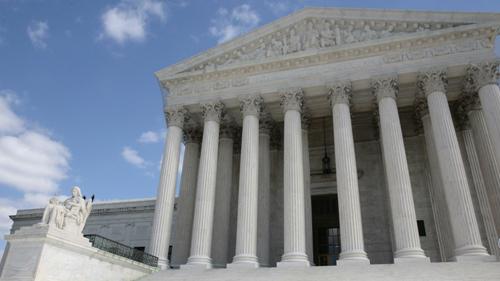 Exterior view of U.S. Supreme Court