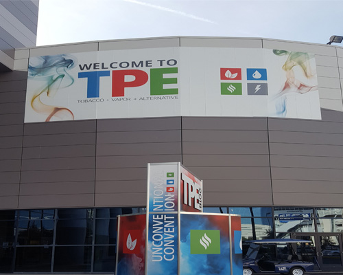 TPE Sign at the Las Vegas Convention Center
