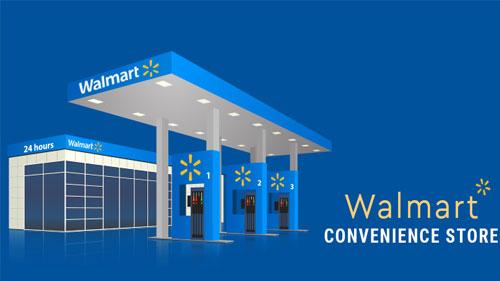 Walmart c-store rendering