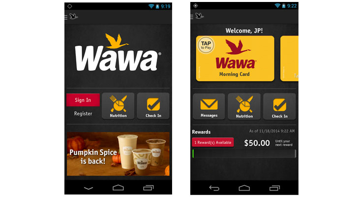 January 22, ET. Wawa Launches New Mobile App and Wawa Rewards Program, Offering Customers a Whole New Way to Connect.