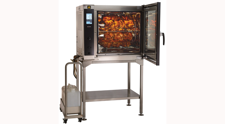 Alto Shaam Self Cleaning Rotisserie Oven Convenience