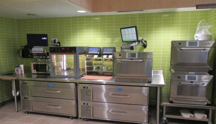 Cumberland Farms foodservice equipment