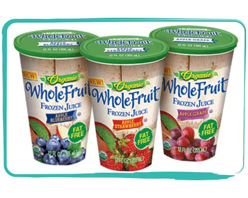 Whole fruit cups