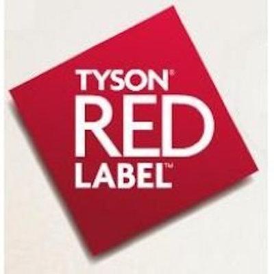 Tyson Red Label Chicken with No Antibiotics Ever