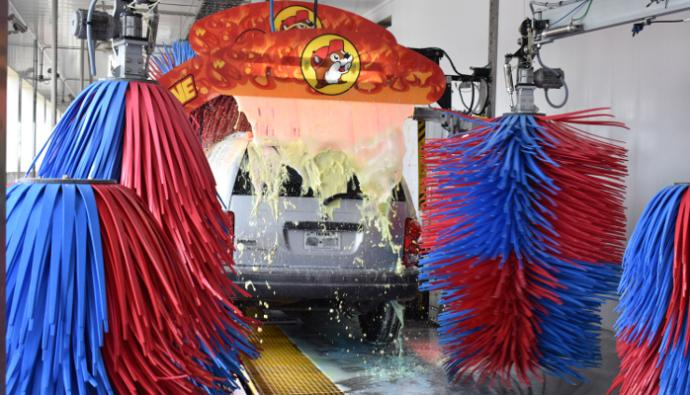 Buc-ee's car wash in Katy, Texas