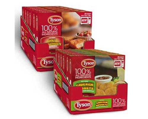 Tyson Single-Serve Chicken Nuggets