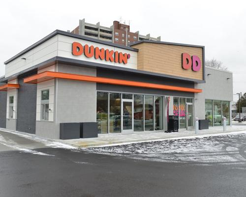 Dunkin' Donuts next generation store in Quincy, Mass.