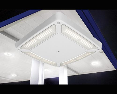 LSI Industries Scottsdale Vertex Canopy Light Fixture