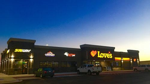 Love's cut the ribbon on three locations the first week in February, welcoming customers at Love's Travel Stops sites in Mills County, Iowa, and Alma, Texas on Feb. 1 and in Waterloo, Iowa on Feb. 8.