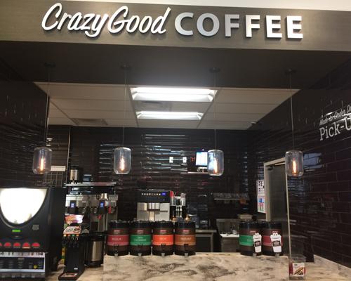RaceTrac fresh-brewed coffee