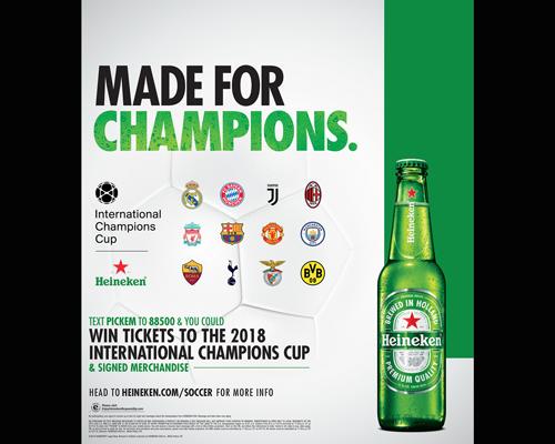 Heineken prizes 2018