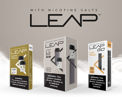 Leap Nicotine-Salts-Based Vapor System | Convenience Store News
