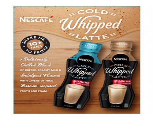 NESCAFÉ Cold Whipped Latte