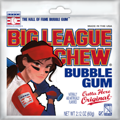 Big League Chew Softball Pouch