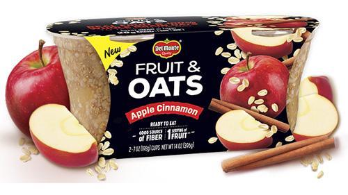 Del Monte Fruit & Oats Apple Cinnamon