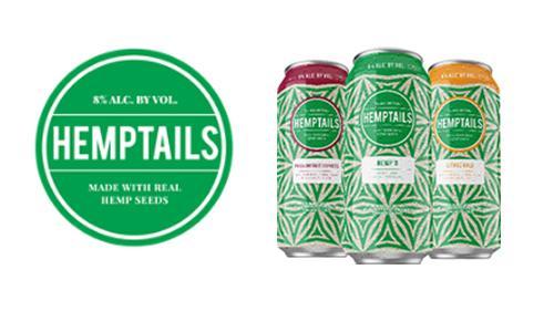 Hemptails malt beverage