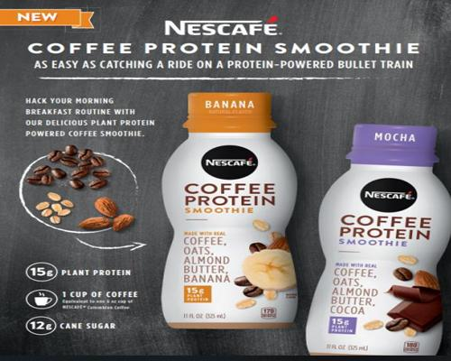 Nescafé Coffee Protein Smoothie
