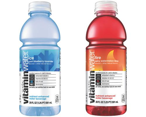 vitaminwater fire & ice