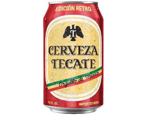 Tecate Retro Cans