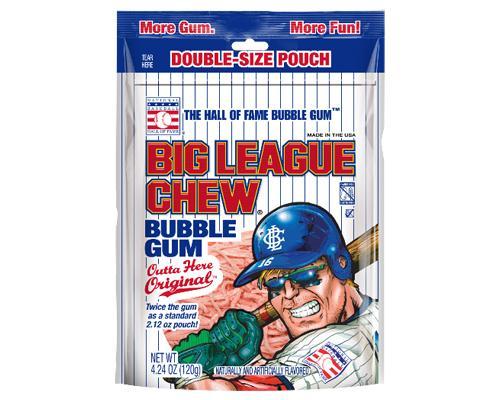 Big League Chew Double-Size Pouch