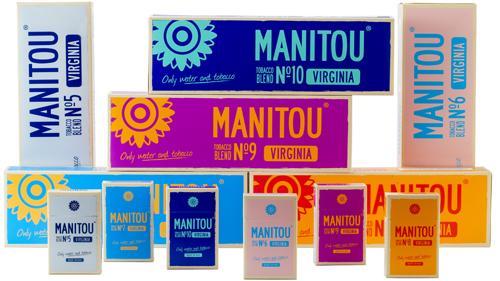 Manitou Super-Premium Cigarettes