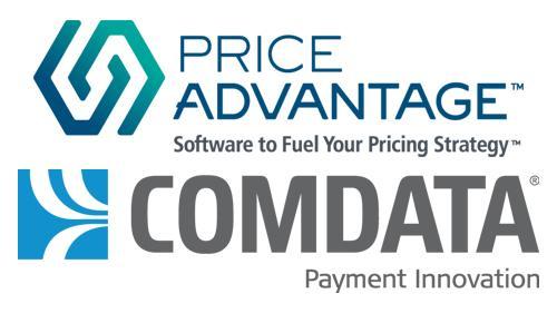 PriceAdvantage & Comdata logos