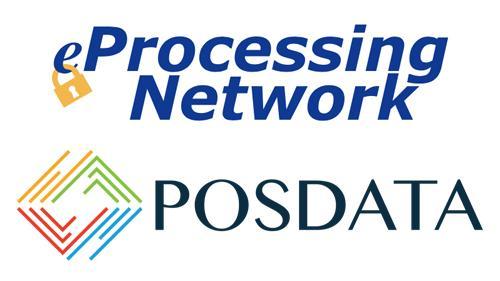 eProcessing Network & POSDATA Group logos