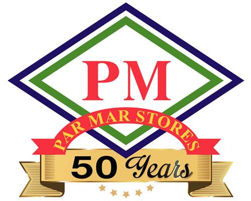 Par Mar Stores with a 50th years banner