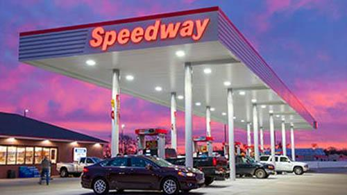A Speedway gas station