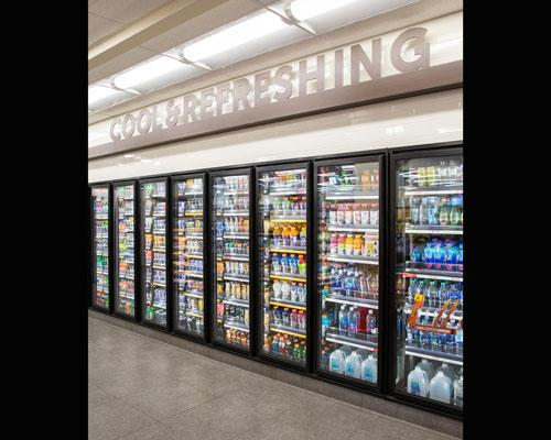 convenience store cold vault