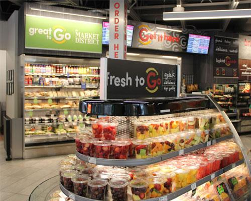 fresh grab-and-go items from GetGo